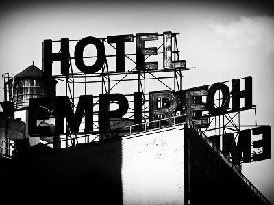 Architecture and Buildings, Rooftop, Hotel Empire, Upper West Side of Manhattan, Broadway, New York-Philippe Hugonnard-Photographic Print