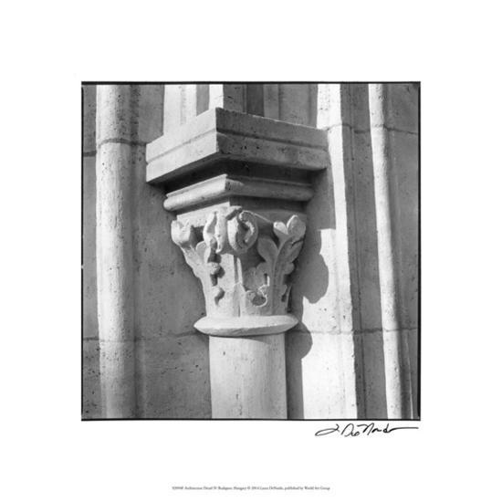 Architecture Detail IV Budapest-Laura Denardo-Premium Giclee Print