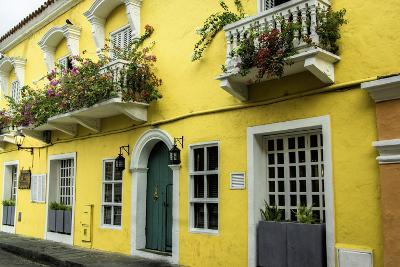 Architecture in the San Diego Part of Old City, Cartagena, Colombia-Jerry Ginsberg-Photographic Print