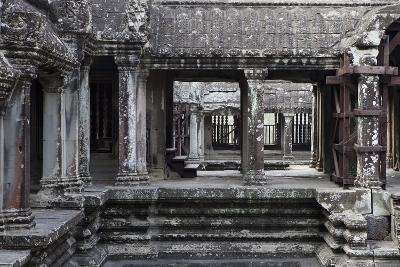 Architecture in the Temple Complex At Angkor Wat-Kent Kobersteen-Photographic Print