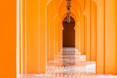 Architecture Morocco Style - Vintage Effect Pictures-Stockforlife-Photographic Print