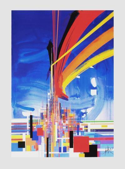 Architecture-Raymond Moretti-Serigraph