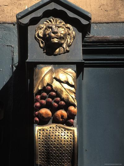Architetural Detail of a Lion from the Front of a Store on Grafton Street in Dublin, Ireland-Richard Nowitz-Photographic Print