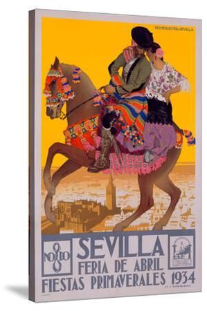 1934 Sevilla Fiesta Print