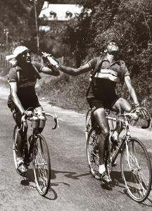 Archrivals Gino Bartali and Fausto Coppi