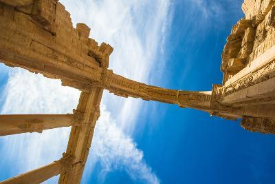 Archs of the Roman Ruins of the Syrian Town Called Palmyra-siempreverde22-Photographic Print