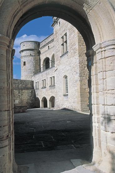 Archway of a Castle, Le Barroux Castle, Vaucluse, Provence-Alpes-Cote D'Azur, France--Photographic Print