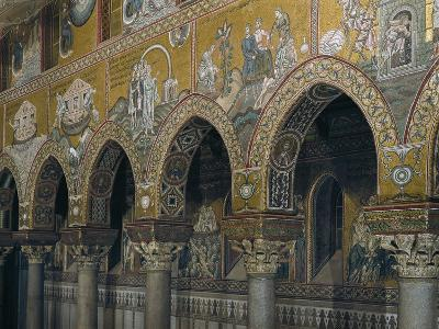 Archway of Nave with Mosaic Depicting Scenes from Old Testament--Giclee Print