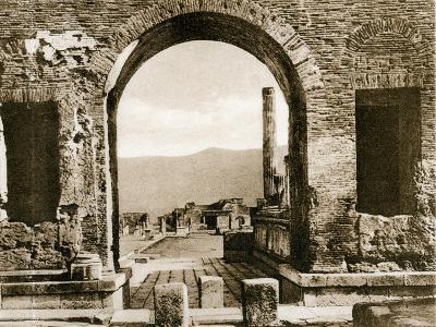 Arco Di Nerone, Pompeii, Italy, C1900s--Giclee Print