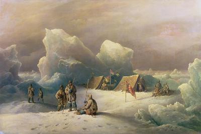 Arctic Expedition: the Most Northern Encampment of H.M.S. Alert, 1877-Richard Bridges Beechey-Giclee Print