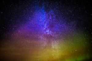 Milky Way and Aurora Borealis, Iceland by Arctic-Images