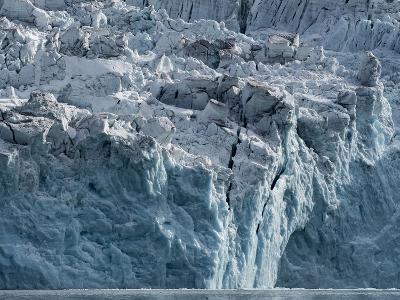 Arctic Ocean, Norway, Svalbard. Glacier Face-Jaynes Gallery-Photographic Print