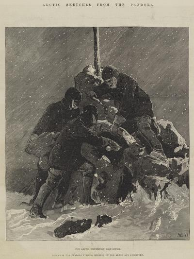 Arctic Sketches from the Pandora-William Heysham Overend-Giclee Print