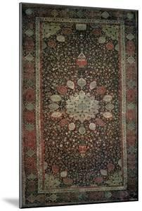 Ardabil Carpet Made for the Mosque at Ardabil, Iran, 1530s