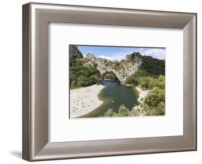Ardeche. Belvedere des Gorges. Gorges de L'ardeche, France.-Tom Norring-Framed Photographic Print