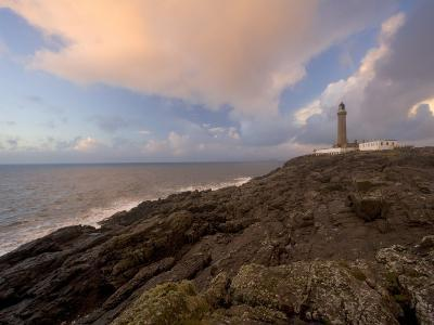 Ardnamurchan Lighthouse, at the Westernmost Point of the British Mainland, West Coast, Scotland, UK-Gavin Hellier-Photographic Print