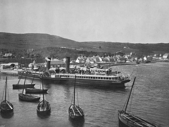 'Ardrishaig - The Steamer Columba at Ardrishaig Quay', 1895-Unknown-Photographic Print
