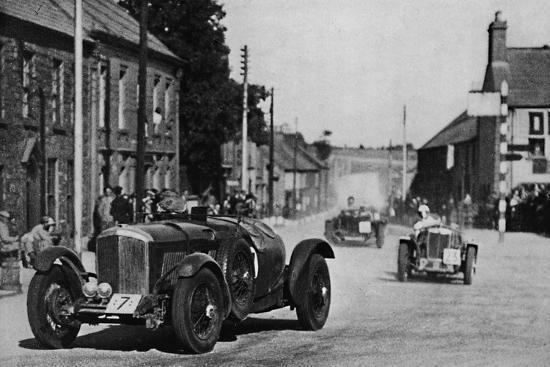 'Ards Tourist Trophy Race', 1937-Unknown-Photographic Print