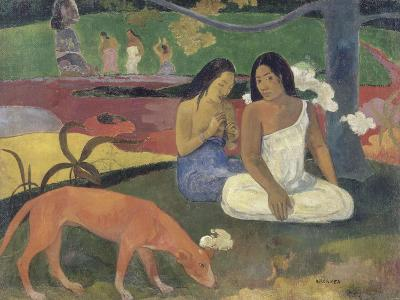 Arearea (Joyeusetés)-Paul Gauguin-Giclee Print