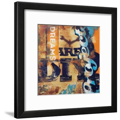 Aren't You Crafty-Rodney White-Framed Giclee Print
