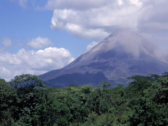 Arenal Volcano, Costa Rica-Bruce Clarke-Photographic Print