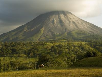 Arenal Volcano Near La Fortuna, Costa Rica-Robert Harding-Photographic Print
