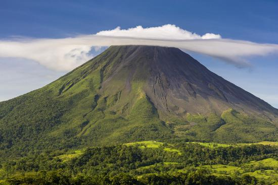 Arenal Volcano-Nick Ledger-Photographic Print