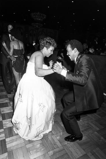 Aretha Franklin, Chuck Jackson 1982-Isaac Sutton-Photographic Print