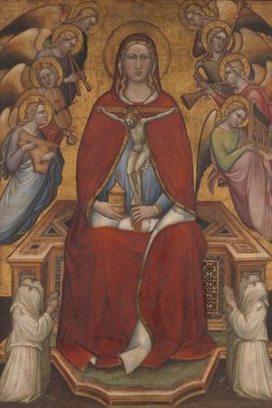 Saint Mary Magdalen Holding a Crucifix, c.1395-1400