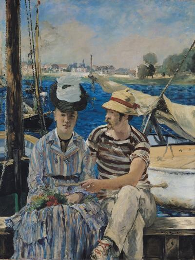 Argenteuil, 1874-Edouard Manet-Giclee Print