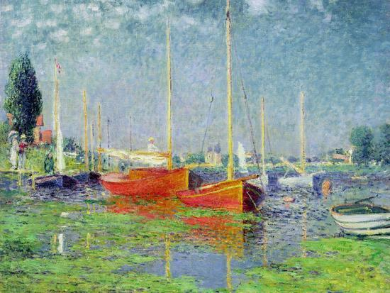 Argenteuil, circa 1872-5-Claude Monet-Premium Giclee Print