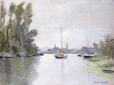 Argenteuil, View of the Small Arm of the Seine, 1872-Claude Monet-Giclee Print