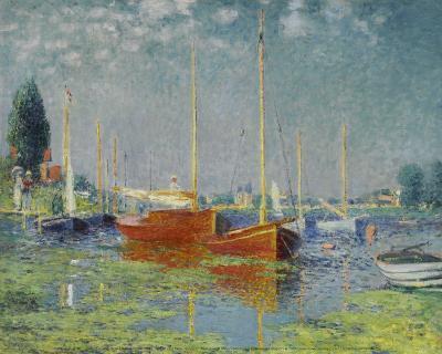 Argenteuil-Claude Monet-Art Print