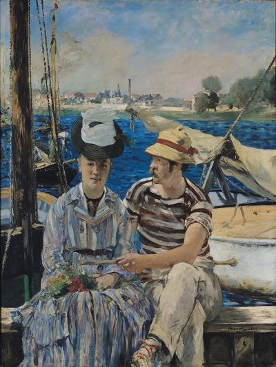 Argenteuil-Edouard Manet-Giclee Print