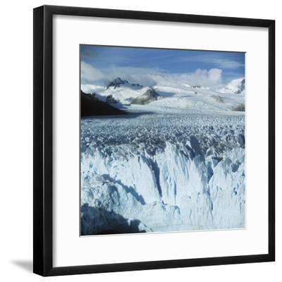Argentina, Patagonia, Perito Moreno Glacier in Los Glaciares National Park--Framed Giclee Print