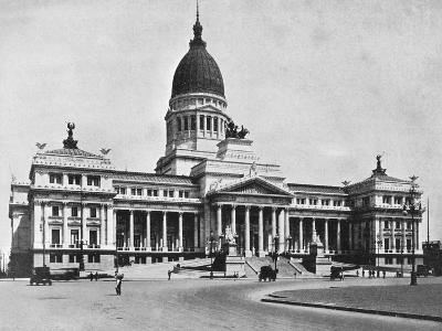 Argentine Congress Hall, Buenos Aires, Argentina--Giclee Print