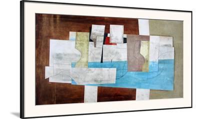 Argolis-Ben Nicholson-Framed Art Print