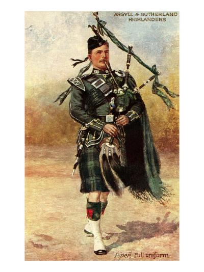 Argyll and Sutherland Highlanders--Art Print