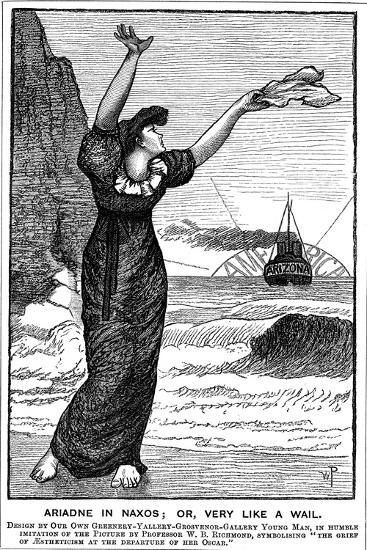 Ariadne in Naxos; Or, Very Like a Wail, 1882--Giclee Print