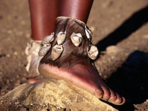 Dancer's Ankle Decorations, Zululand, South Africa by Ariadne Van Zandbergen