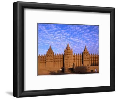 Djenne's Grand Mosque (1905) is the Largest Mud-Brick Building in the World, Djenne, Mopti, Mali