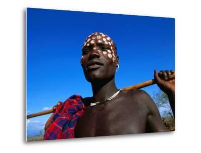 Mursi Man, Mago National Park, South Omo, Ethiopia