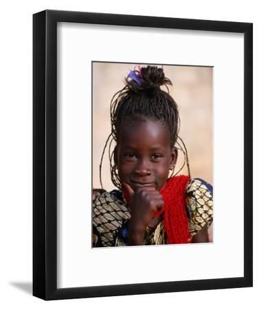 Portrait of Young Girl, Langue De Barbarie National Park, St. Louis, Senegal