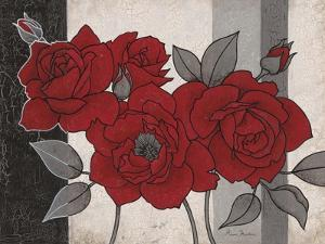 Roses and Stripes 1 by Ariane Martine