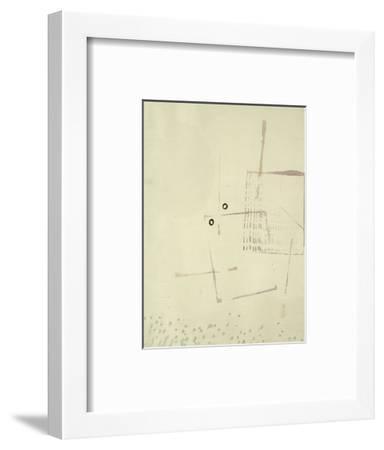 Arich Hier Eim Gesicht-Paul Klee-Framed Premium Giclee Print