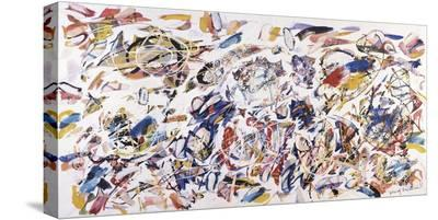 Arie colorate, 1993-Nino Mustica-Stretched Canvas Print