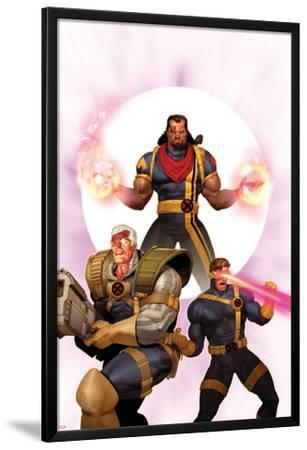 X-Men: The Times and Life of Lucas Bishop No.3 Cover: Cable, Cyclops and Bishop