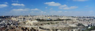 Ariel View of the Western Wall, Jerusalem, Israel