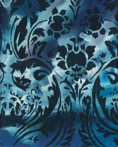 Indigo Patterns I by Arielle Adkin