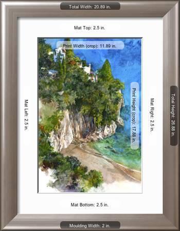 Arienzo Beach Amalfi Coast Italy Premium Giclee Print By Bruce White Art Com